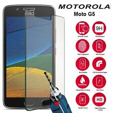 Genuine Ultra Thin Tempered Glass Screen Protector For Motorola Moto G5