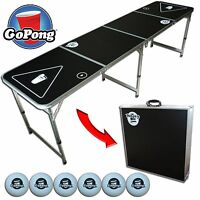 Official Size Beer Pong Table 8ft x 2ft by GoPong