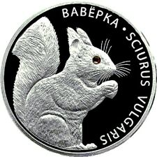 Belarus / Weißrussland - 20 Rubles Squirrel