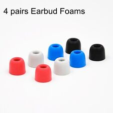 4 Pairs 5mm Memory Foam C sets Comply T100 T400 Ear Tips For Earphone Earbud