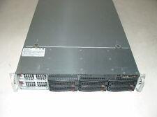 SuperMicro 2U Server X8QB6-F 4x Xeon E7540 2ghz 24-Cores  64gb  HW Raid  2x PSU