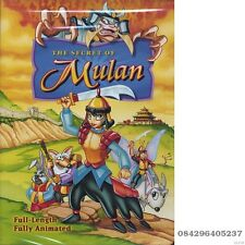 The Secret of Mulan * animated movie * 2003 Sterling Entertainment * new dvd