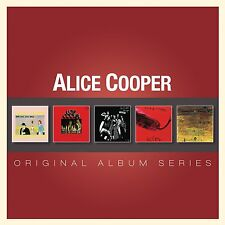 ALICE COOPER - ORIGINAL ALBUM SERIES: 5CD ALBUM SET (2012)