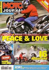 MOTO JOURNAL 1478 YAMAHA BT 1100 Bulldog XJR SUZUKI GSX 1400 TRIUMPH TT Legend