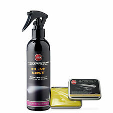 Autobright Detalle medio Clay bar kit 100g Y Limpieza del coche 250ml Arcilla Mist