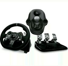 Logitech Driving Force G920 XBOX ONE & PC VOLANTE PEDALI & gearstick