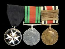 THE ORDER OF ST.JOHN OF JERUSALEM MEDAL & DEFENCE,SPECIAL CONSTABULARY MEDAL