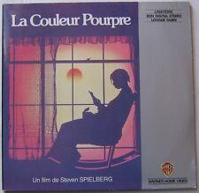 LA COULEUR POURPRE (LASERDISC) STEVEN SPIELBERG - WHOOPI GOLDBERG DANNY GLOVER