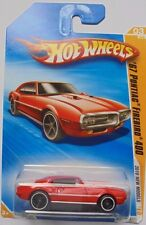 2010 Hot Wheels New Models '67 Pontiac Firebird 400 3/44 (Red Version)