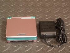 Nintendo Game Boy Advance SP Pink and Green system AGS001