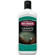 Weiman Granite / Marble / Solid Surface Countertop Cleaner & Polish - 8oz