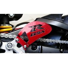 Suzuki GSXR CANDY RED Heel Guards / Plates GSX-R 600 750 1000