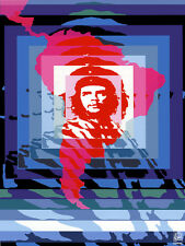 "18x24""Political World Solidarity Socialist Poster.Che Guevara America.6245"