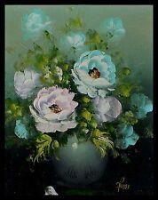 Top Moderne Kunst  Rossi, Blumen in Vase, akademische Arbeit, signiert    xxxxx