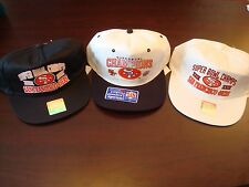 SAN FRANCISCO 49ERS SUPER BOWL XXIX 1995 LOT VINTAGE 90'S HAT CAP  SNAPBACK