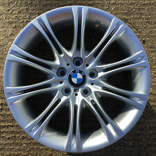 "One BMW 18"" Genuine MV2 Alloy Wheel 5 Series E60 E61 MV Refurbished 530 Sport 8J"