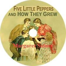 Five Little Peppers and How They Grew, Margaret Sidney Audiobook on 6 Audio CDs