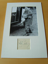 Dads Army John Laurie Genuine Autograph - UACC / AFTAL.