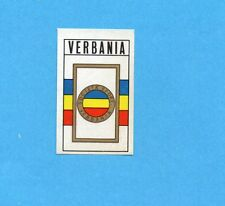 FIGURINA PANINI 1970/71 - VERBANIA - SCUDETTO/BADGE -recuperato PERFETTO !