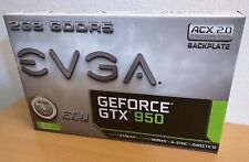 EVGA GeForce GTX 950 2GB FTW GAMING, Silent Cooling Graphics Card 02G-P4-2958-KR