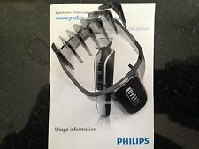 Philips Original QG3352 QG3371 QG3374 Multigroom 3-20mm Accesorio Peine de Cabello