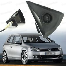 Wide Degree CCD Front View Camera Logo Embedded Waterproof for VW Golf 2009-2012