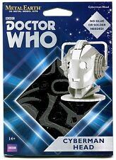 Metal Earth Dr Who CYBERMAN HEAD 3D Puzzle Micro Model
