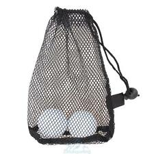 Nylon Mesh Nets Bag Pouch Golf Tennis 15 Ball Carrying Holder Storage Organizer