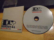 RARE PROMO Immortal sampler CD Thirty Seconds to Mars KORN Incubus Serj Tankian