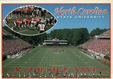 North Carolina State University at Raleigh, Wolfpack Football Stadium - Postcard