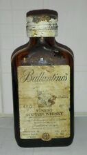 Antica Mignon Vetro Miniature Whisky Ballantines Collection Vintage Rare Epoca