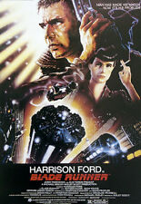 BLADE RUNNER Movie Poster - Science Fiction Full Size Print ~ Harrison Ford