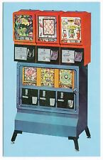 Vintage COIN-OP VENDING MACHINE Advertising Postcard # 2