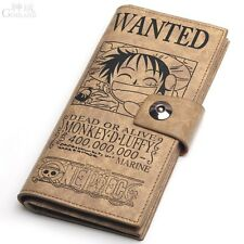 New Japanese anime ONE PIECE Monkey D. Luffy's Smile Wallet Purse