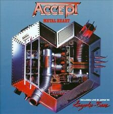 Metal Heart/Kaizoku-Ban: Live in Japan by Accept (CD, Aug-2013, Hear No Evil...