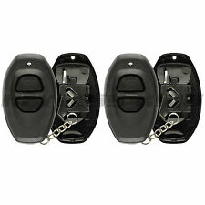 2 New Replacement Keyless Entry Remote Key Fob Case Shell Pad for RS3000 Black