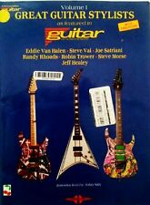 GUITAR TABLATURE ROBIN TROWER STEVE MORSE SATRIANI VAI RANDY RHOADS JEFF HEALEY