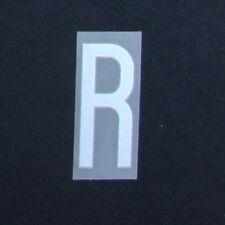 * 14 / 15-Internacional Plástico Plata; porque Adidas / Letra R = 50 Mm *