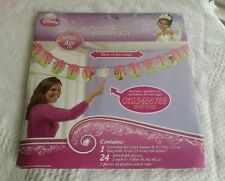 Disney Princess and the Frog Jumbo letter Banner party brand new Tiana birthday