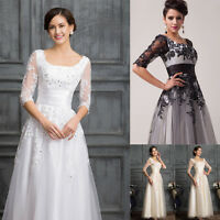 NEW STOCK Maxi Formal Mother of the Bride Evening Wedding Prom Dresses Plue Size