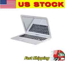 Mini Pocket MacBook Air Laptop Glass Women Makeup Mirror Sliver-USA Seller