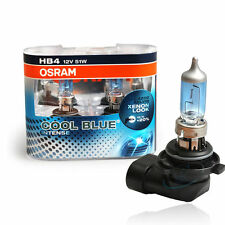 HB4 Osram Cool Blue Intense 51w 12v Low Beam Bulbs Lights Headlight Headlamp New