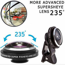 Super 235° Clip On Fish Eye Camera Lens Kits for iPhone 6/ Plus/ 5S/ SE/ Samsung