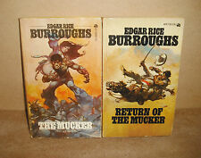 MUCKER & RETURN OF THE MUCKER Edgar Rice Burroughs ACE 95 cent ed Frank Frazetta