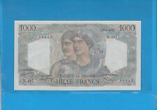 1 000  Francs MINERVE ET HERCULE du 26-8-1948  Alphabet W.487