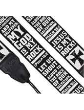 PSALM 95:1 - CHRISTIAN GUITAR STRAP - BY KERUSSO