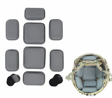 Military Tactical Airsoft Hunting Protective Pad for Helmet Grey