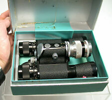 Moller Wedel cambinox idemar 3,5/90 Binocular Camera Top Box Documents OVP 1956