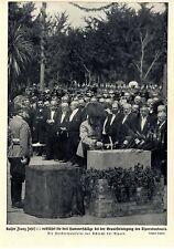 Hunderjahrfeier der Schlacht bei Aspern Kaiser Franz Josef v...Bilddokument 1909