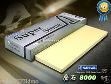 Japanese NANIWA Super Stone #8000 grit Whetstone High Quality Sharpening Stone